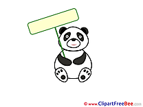Panda free Illustration download