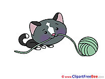 Threads Cat Pics printable Cliparts